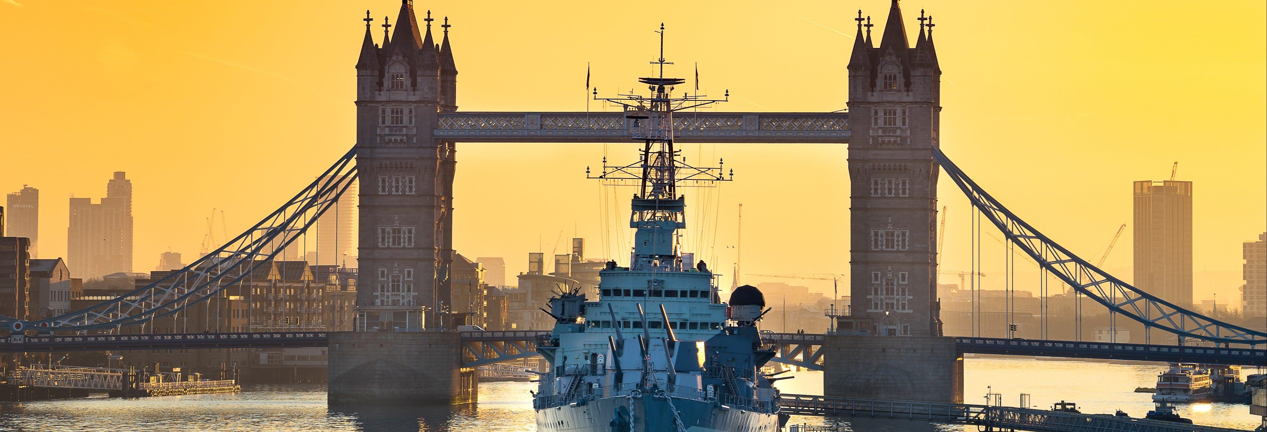 Ingresso para o HMS Belfast