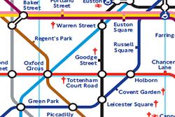 metro de londres mapa Metro de Londres   Líneas, plano, horario y tarifas del metro metro de londres mapa