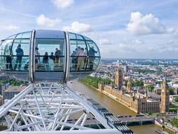 Vue depuis le London Eye
