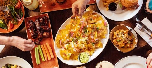 Comida o cena en el Hard Rock Cafe London