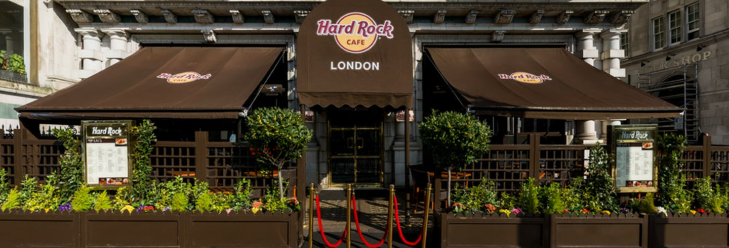 Pranzo o cena all'Hard Rock Cafe London