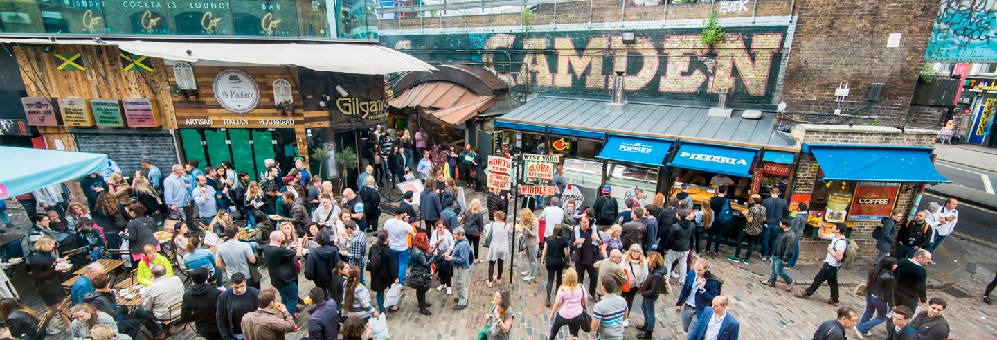Camden Market and Music Legends Tour
