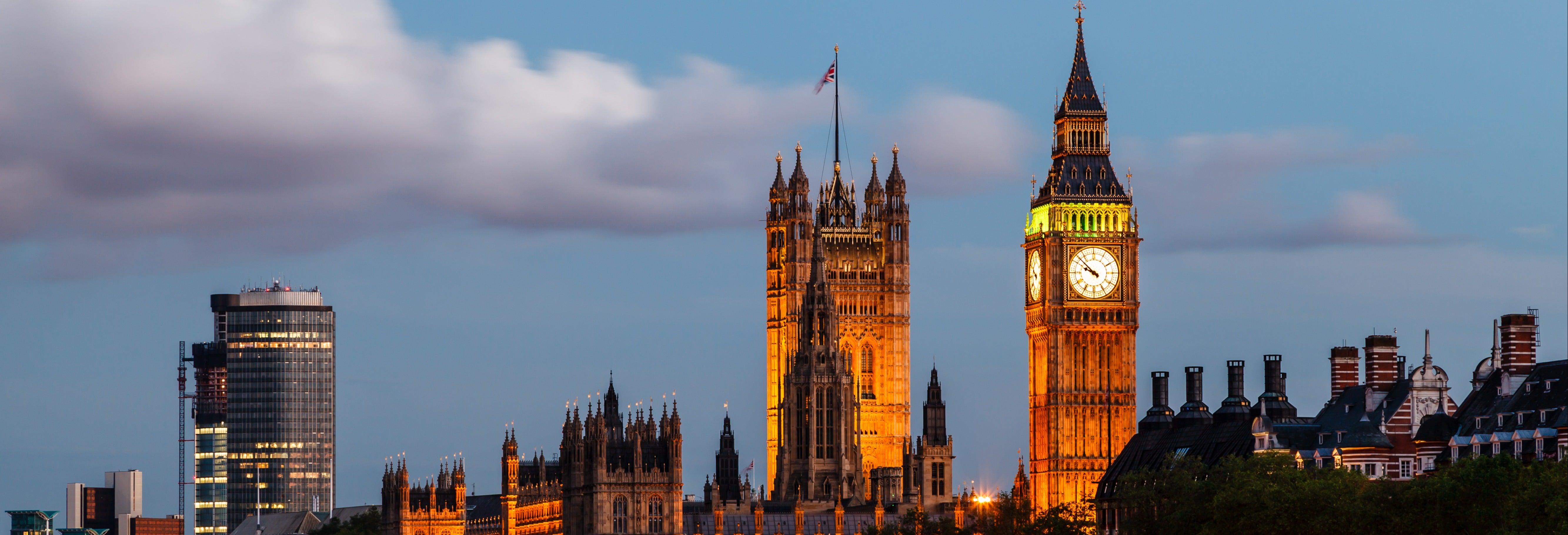 Paseo nocturno por el Londres actual
