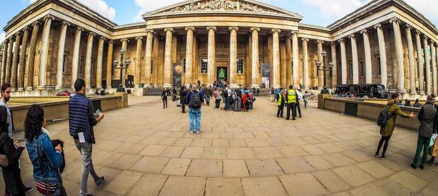 Visita guiada por el Museo Británico