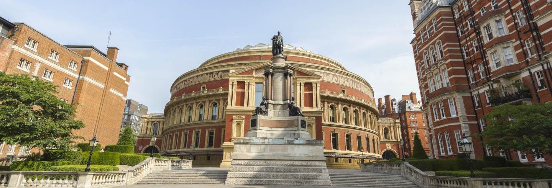 Visita guiada por el Royal Albert Hall