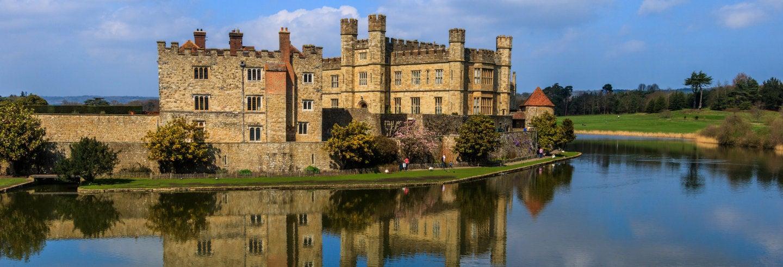 Ingresso do Castelo de Leeds