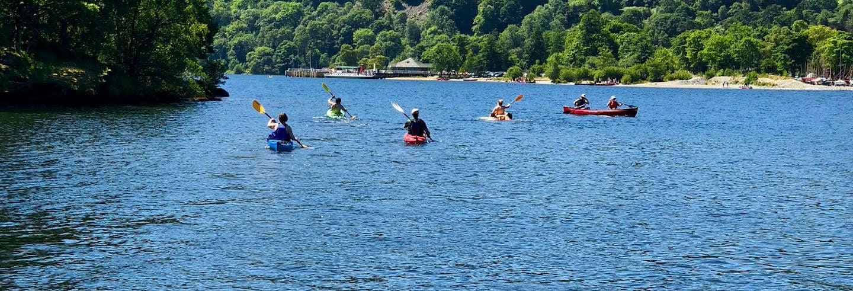 Tour en kayak por el lago Ullswater