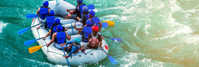 Rafting sul fiume Tummel