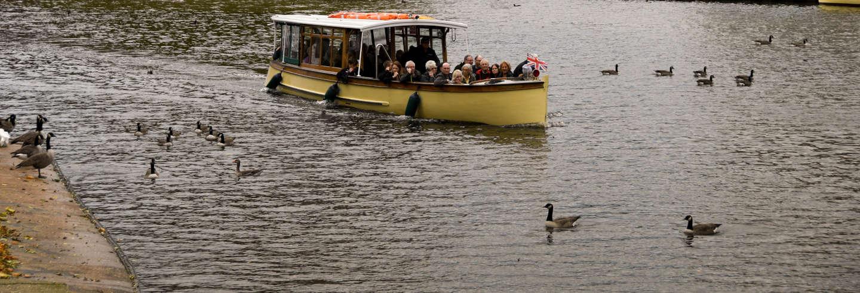 Balade en bateau dans Stratford-upon-Avon