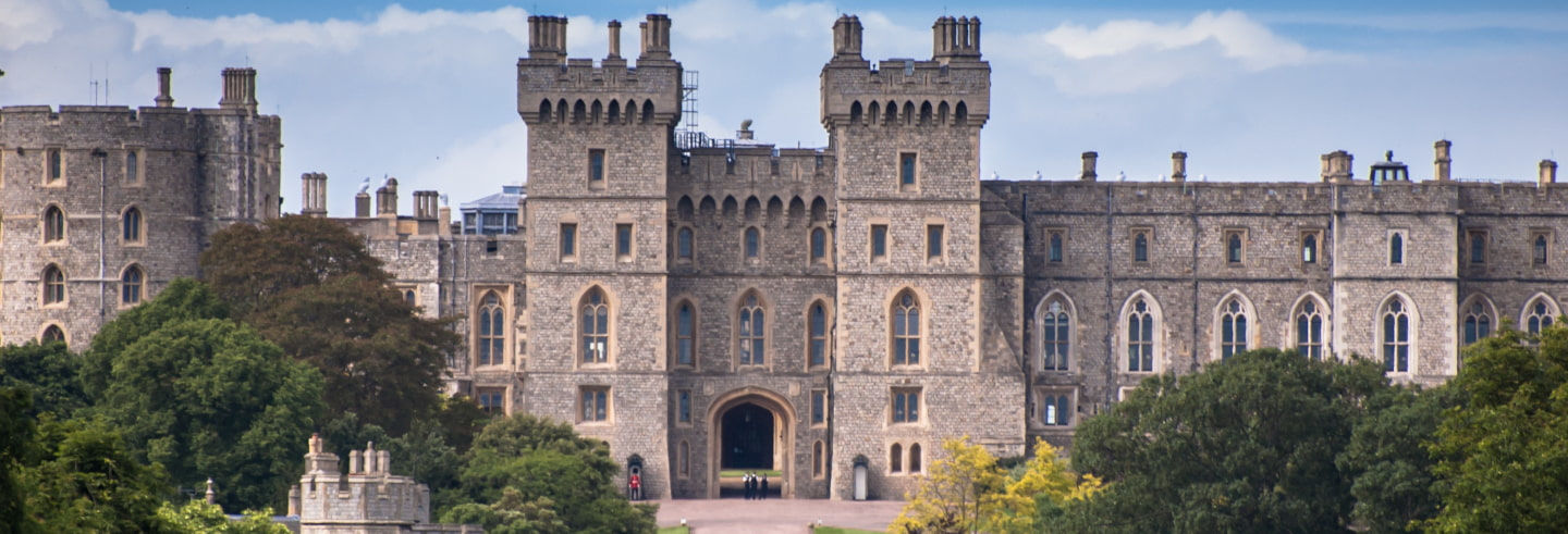 Entrada al castillo de Windsor