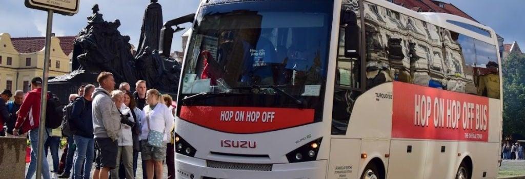 Bus touristique de Prague
