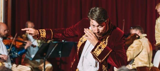 Jantar e concerto de Mozart no Grand Hotel Bohemia