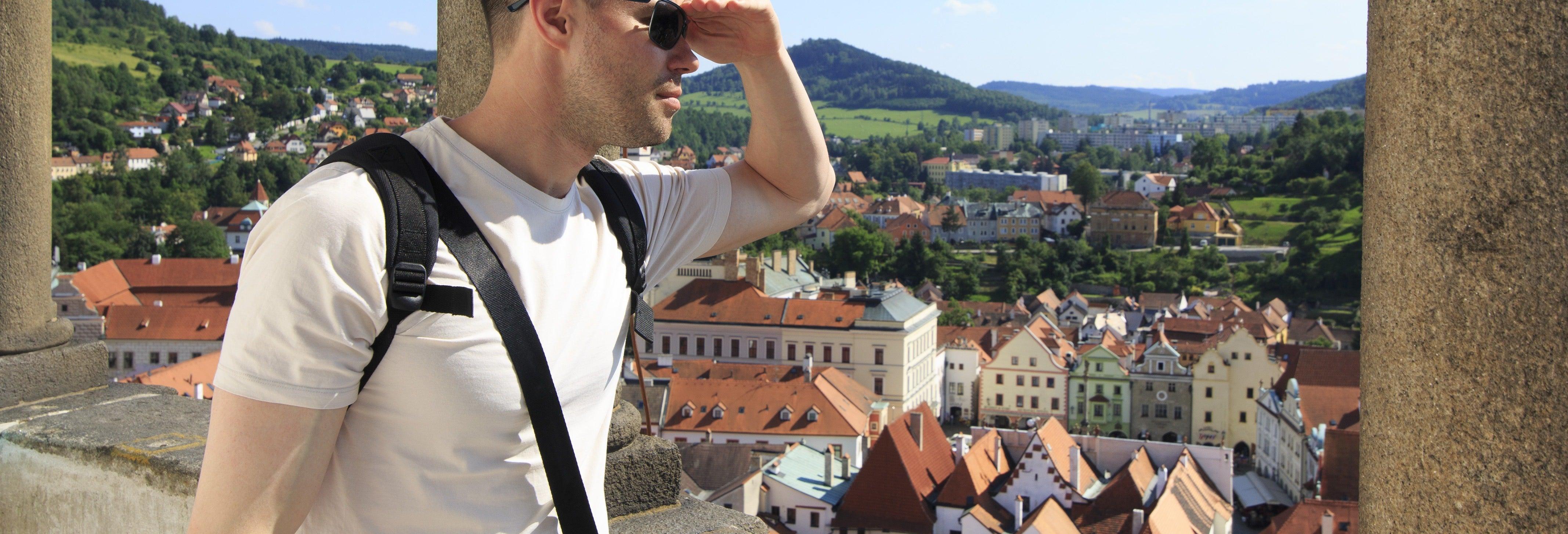 Excursão a Český Krumlov