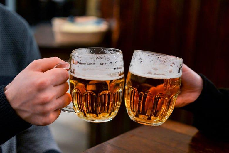 ,Tour de la cerveza,Cerveza checa,Cata y degustación de cerveza checa