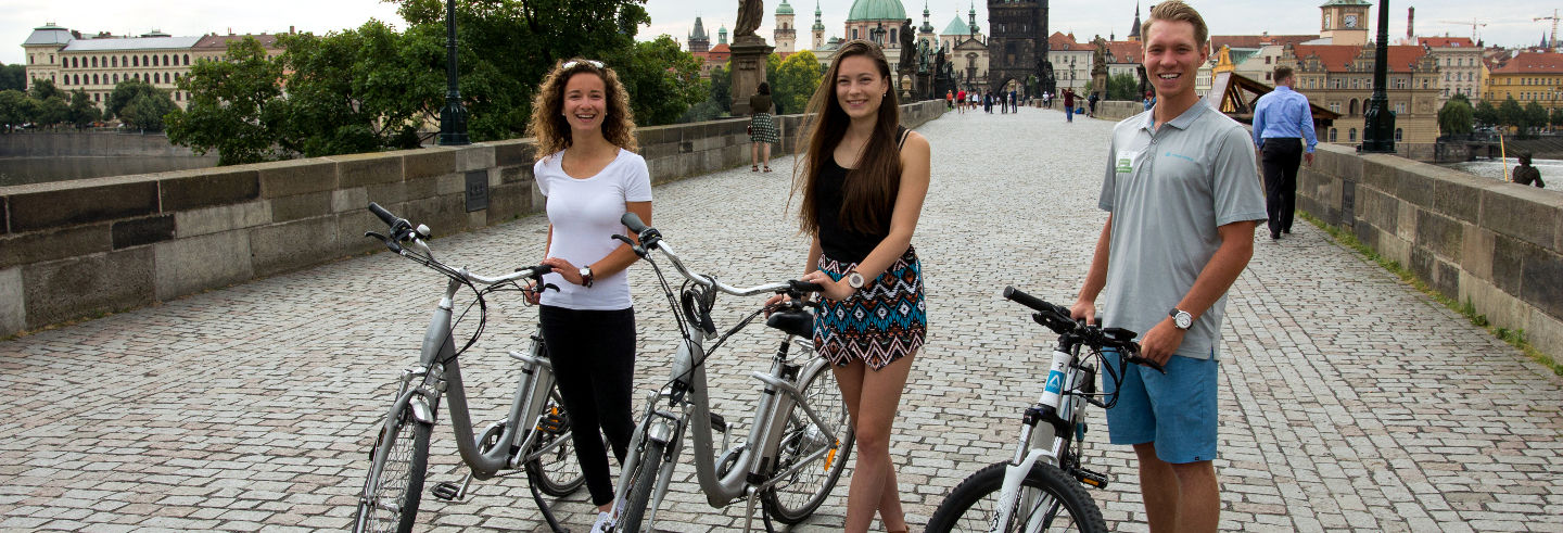 Tour de Prague à vélo