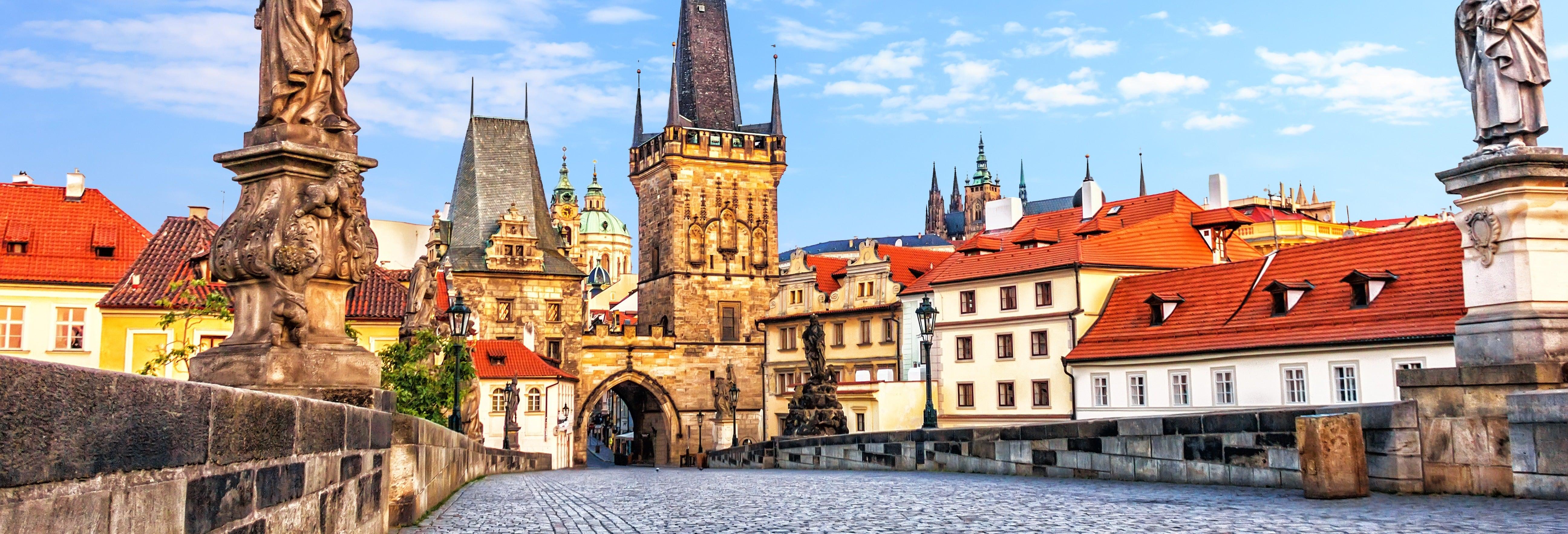 Visita guiada por Hradčany e Malá Strana