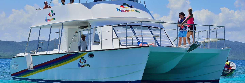 Balade en catamaran à Puerto Plata et Montecristi
