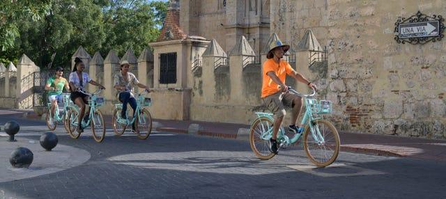 Tour en bicicleta por la Ciudad Colonial de Santo Domingo