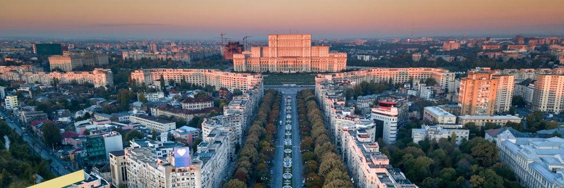Lugares perto de Bucareste