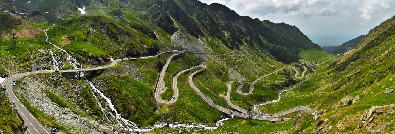 Rota pela estrada de Transfagarasan