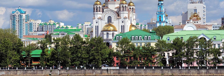 Tour privado por Ekaterimburgo con guía en español