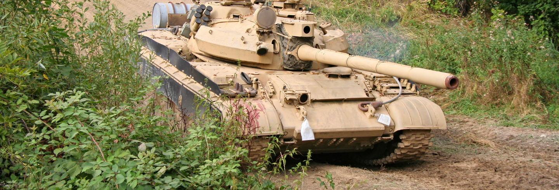 Conducción de tanques rusos