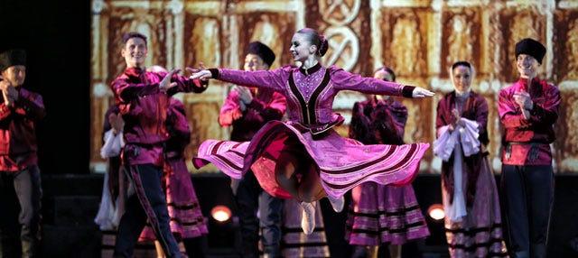 Espectáculo Kostroma del Ballet Nacional Ruso