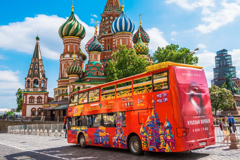 ,Tour por Moscú,Autobús turístico