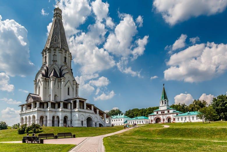 ,Parque de Kolomenskoye,Visita guiada