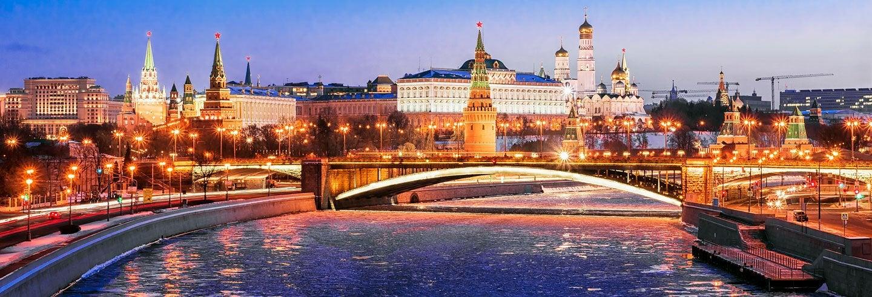Tour nocturno por el Moscú iluminado