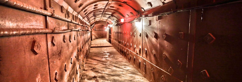 Visita guiada pelo Museu do Bunker-42