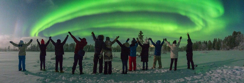Tour di 3 giorni: a caccia dell'Aurora Boreale