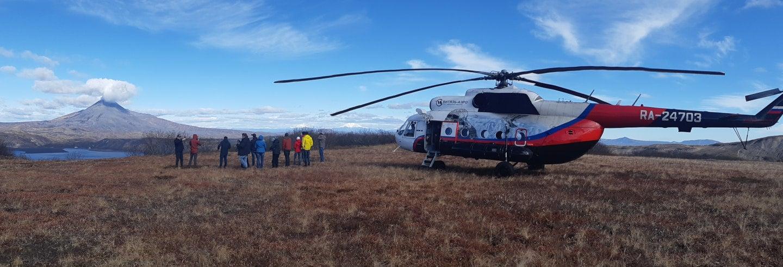 Escursione alla Valle dei Geyser in elicottero