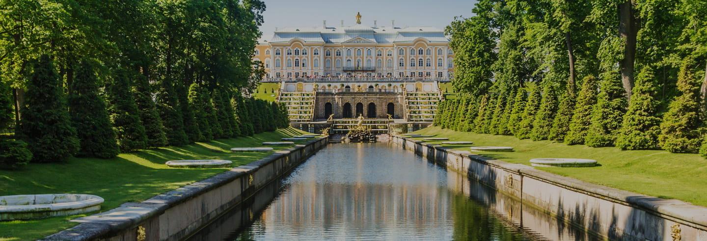 River Cruise to Peterhof Gardens