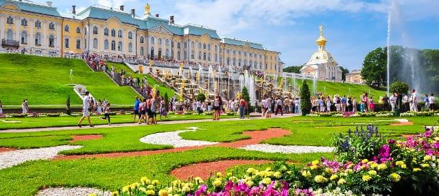 Excursión a Peterhof