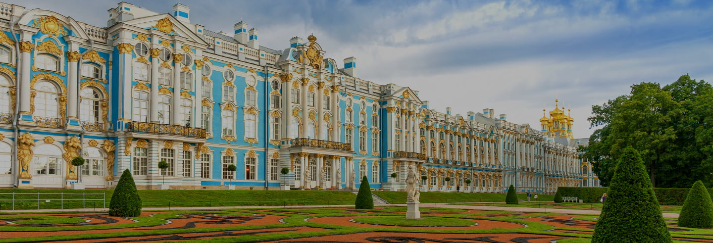 Pushkin and Catherine Palace Half-Day Trip