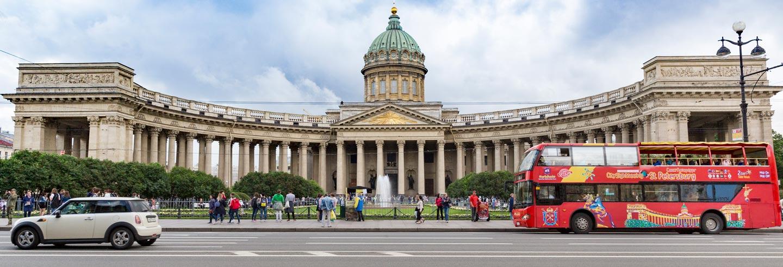 Autobús turístico de San Petersburgo