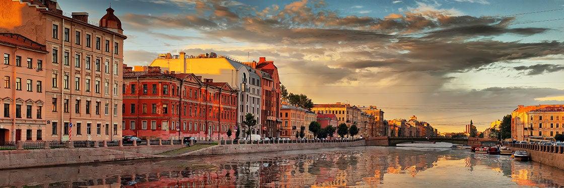 Tempo em São Petersburgo