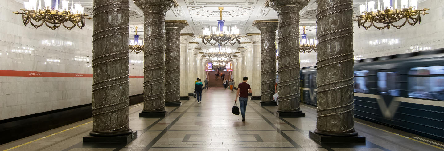 St Petersburg Metro Guided Tour