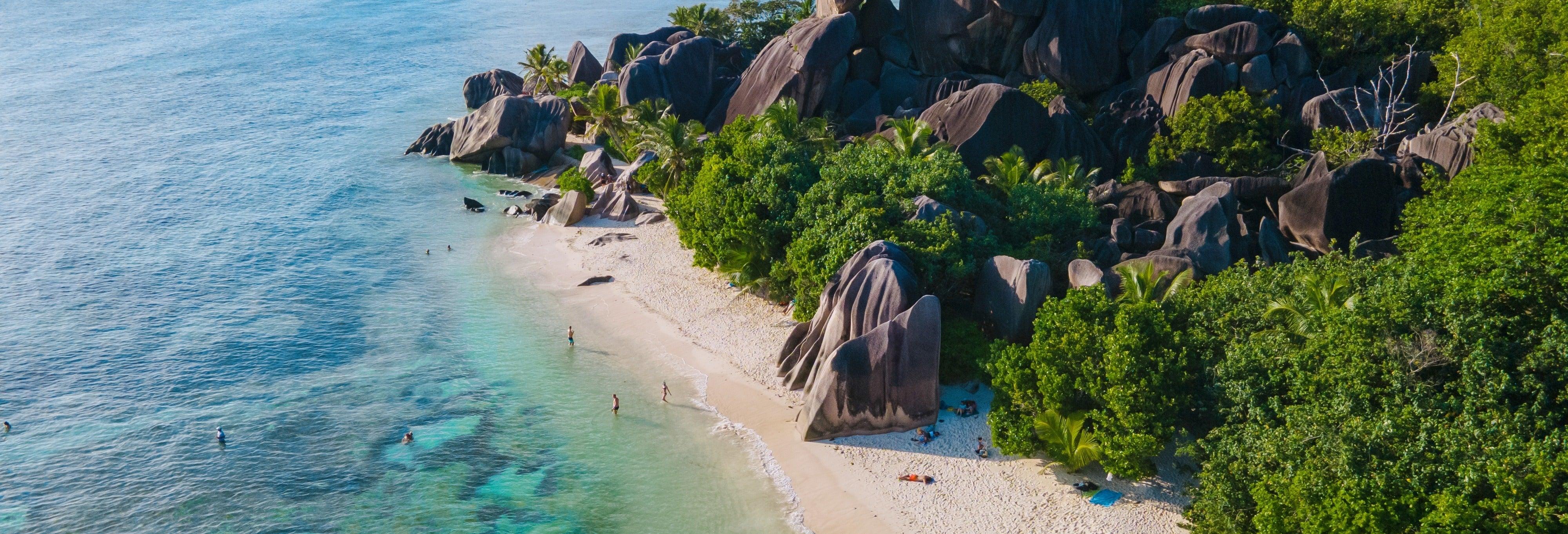 Excursion sur l'île de La Digue