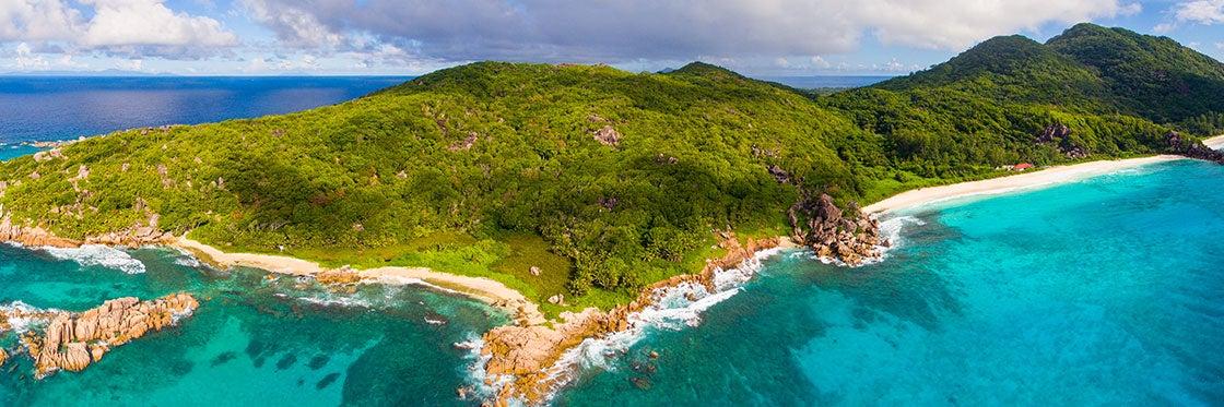 Geografia e ilhas de Seychelles