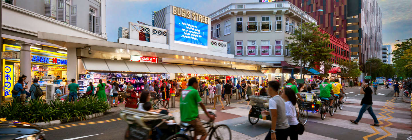 Free Tour of Singapore's Cultural Districts