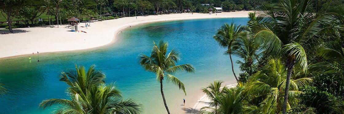 Playas de Isla Sentosa