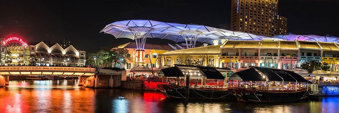 Salir de fiesta en Singapur