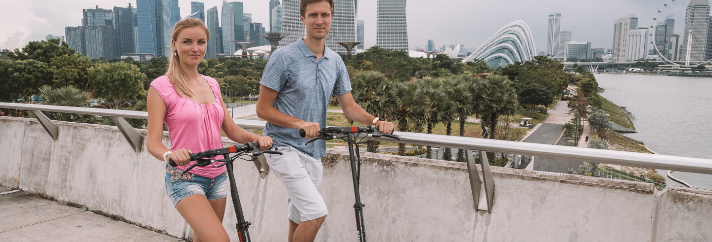 Electric Scooter Tour of Singapore