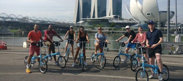 Tour di Singapore in bicicletta