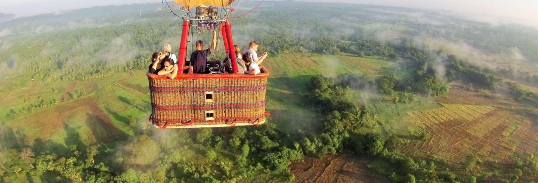 Paseo en globo por Sigiriya