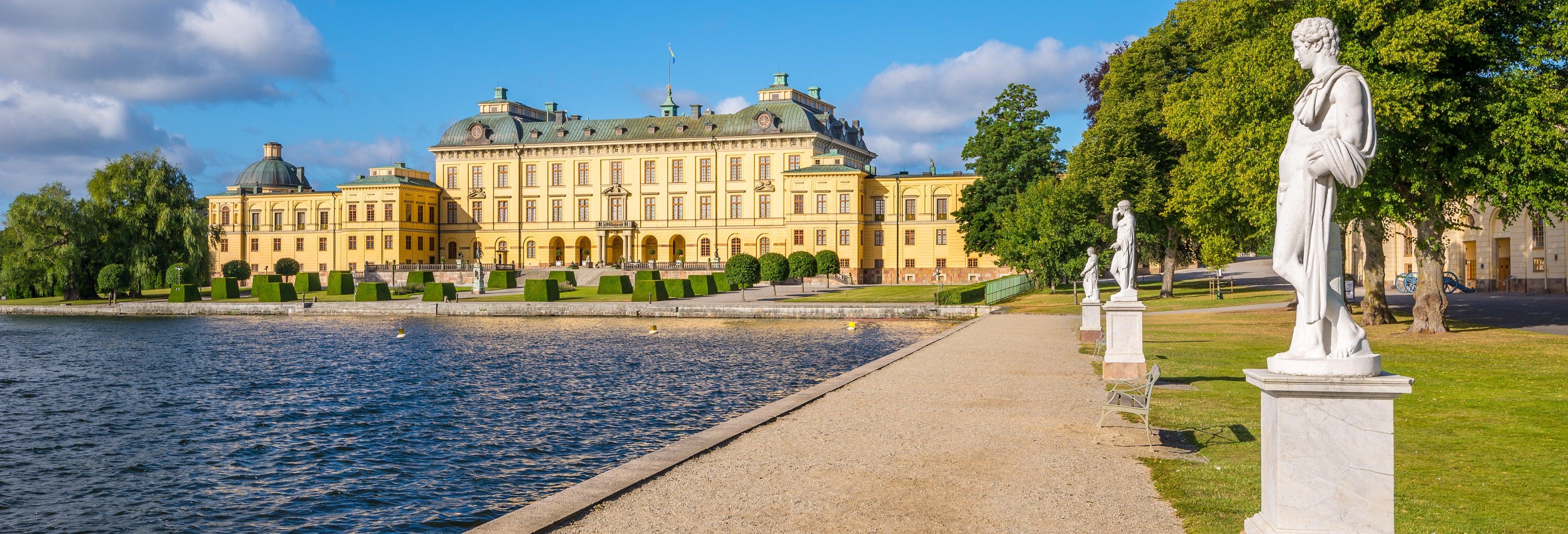 Excursión al palacio de Drottningholm