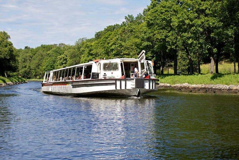 ,Crucero por Estocolmo,Crucero por el canal Real