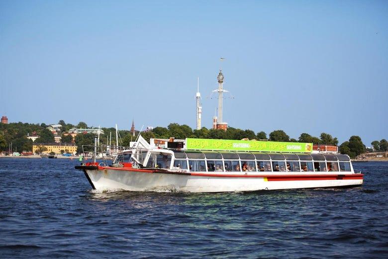 ,Crucero por Estocolmo,Crucero con paradas libres
